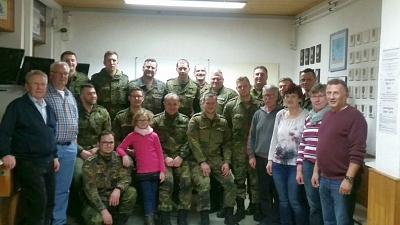 Freundschaftstreffen mit der Bundeswehr