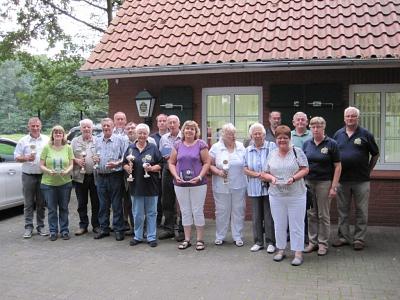 Erfolgreiches Preis-, Pokal- und Plakettenschießen der Kyffhäuser Kameradschaft Steyerberg